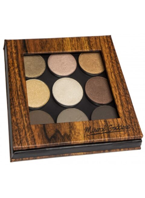 kylie s professional mineral goddess pressed eyeshadow palette the goddess collection
