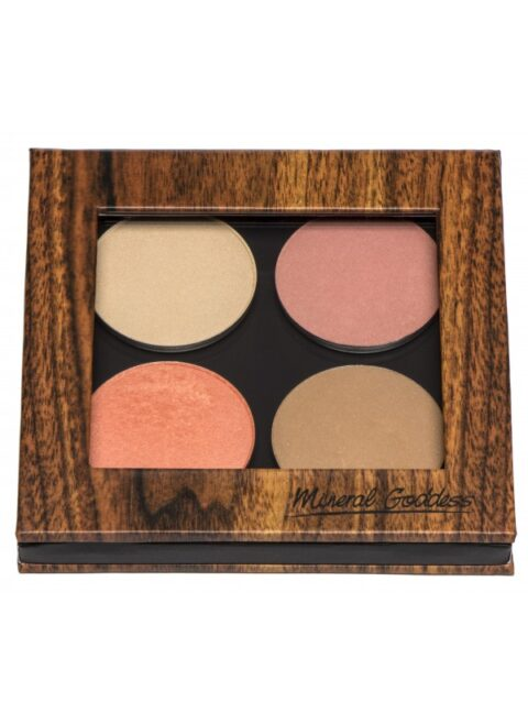 kylies professional mineral goddess pressed cheeky palette
