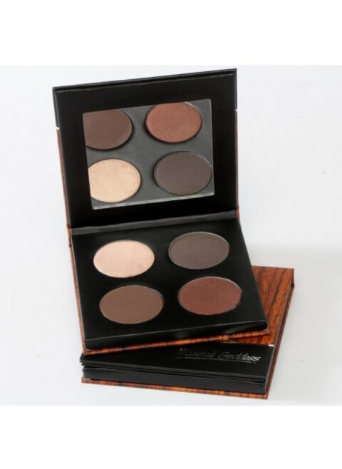 kylies professional mineral goddess pressed eyeshadow cafe palette