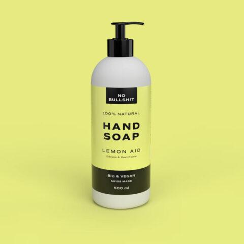 nobullshit lemon aid hand soap