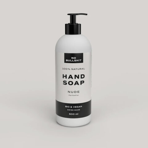 nobullshit nude hand soap